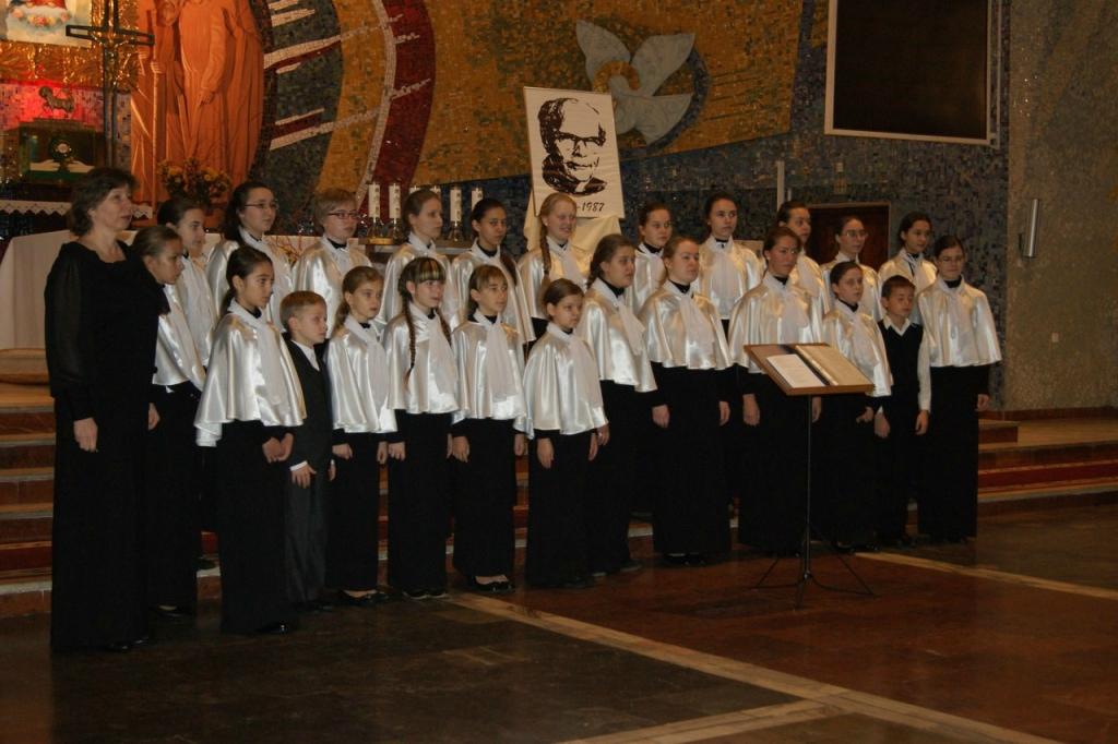 На Международном хоровом конкурсе в Польше. 2013 год