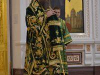 Епископ Балтийский Серафим в день памяти прп. Серафима Саровского возглавил Литургию в Кафедральном соборе Христа Спасителя г. Калининграда