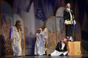 Рождественский спектакль, подготовленной учащимися Воскресной школы Кафедрального собора Христа Спасителя г. Калининграда.
