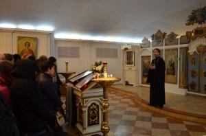 Встреча с молодежью в Кафедральном соборе Христа Спасителя