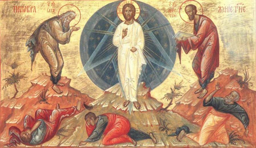 Икона Преображения Господа Бога и Спаса нашего Иисуса Христа