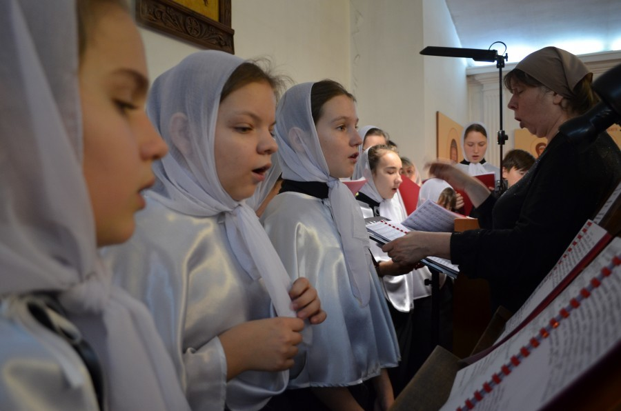В праздник Казанской иконы Божией Матери. 2016 год
