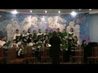 Архиепископа Серафима с именинами поздравил концертным выступлением хор «Рождественский»