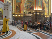 Праздничная литургия в день св. апостолов Петра и Павла