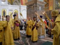В Неделю 4-ю по Пятидесятнице архиепископ Серафим совершил литургию