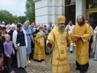 В день памяти свв. Петра и Февронии архиепископ Серафим совершил Божественную Литургию