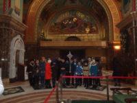 Неслышащие дети побывали на экскурсии в Кафедральном соборе