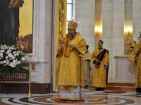 Архиепископ Серафим возглавил воскресное богослужение