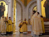 В Неделю о блудном сыне архиепископ Серафим возглавил литургию