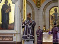 В Неделю 2-ю Великого поста архиепископ Серафим совершил литургию