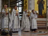В Кафедральном соборе отметили праздник Вознесения Господня