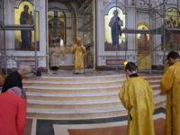 В Неделю 3-ю по Пятидесятницы архиепископ Серафим совершил литургию