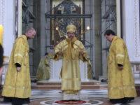 Архиепископ Серафим в Неделю Всех святых совершил Божественную Литургию
