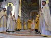 Архиепископ Серафим совершил Божественную Литургию по случаю 1030-летия Крещения Руси