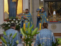 В Кафедральном соборе отметили праздник Успение Богородицы Божественной литургией