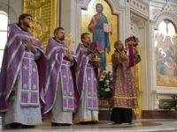Праздник Воздвижения Креста Господня в Кафедральном соборе