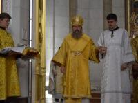 Архиепископ Серафим возглавил литургию и совершил хиротонию