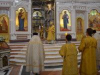 Архиепископ Серафим в Неделю 24-ю по Пятидесятнице совершил литургию