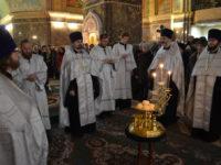 В канун Рождества Христова в Кафедральном соборе состоялось Всенощное бдение