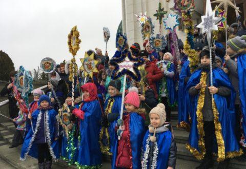 Ученики Воскресной школы встретили Рождество Христово
