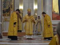 Архиепископ Серафим в Неделю 35-ю по Пятидесятнице совершил Божественную литургию