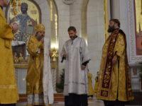 В Рождественский сочельник архиепископ Серафим совершил диаконскую хиротонию