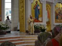 Архиепископ Серафим в Неделю 7-ю по Пасхе совершил Божественную литургию