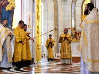 Архиепископ Серафим в Неделю Всех святых совершил диаконскую хиротонию