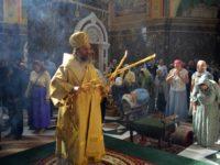 Архиепископ Серафим в Неделю 7-ю по Пятидесятнице совершил Божественную литургию