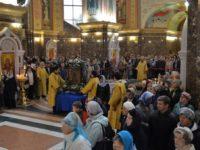 Архиепископ Серафим возглавил Божественную литургию недели 19-й по Пятидесятнице