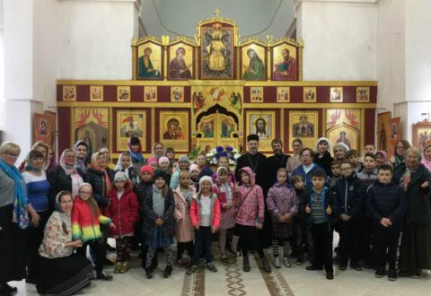 Паломничество в Гурьевск и прогулка по Хуторской. Поездка Воскресной школы