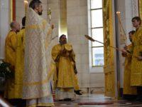 Архиерейское богослужение в Неделю 26-ю по Пятидесятнице