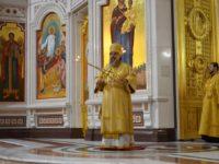 Архиепископ Серафим совершил Литургию в неделю 24-ю по Пятидесятнице