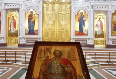 В Калининград доставлена икона св. князя Александра Невского