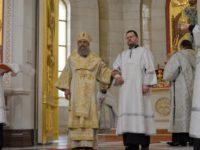 В праздник Вознесения Господня архиепископ Серафим совершил диаконскую хиротонию