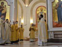 Архиепископ Серафим совершил Божественную литургию в Неделю 22-ю по Пятидесятнице
