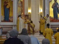 Архиепископ Серафим совершил Литургию в Неделю 23-ю по Пятидесятнице