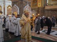 В Неделю 31-ю по Пятидесятнице архиепископ Серафим совершил Литургию