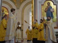 В Неделю 33-ю по Пятидесятнице архиепископ Серафим совершил Божественную литургию
