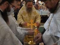 Архиепископ Серафим совершил Литургию в праздник Богоявления