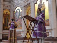 Архиепископ Серафим совершил Литургию в Неделю 1-ю Великого поста