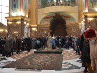 Праздник Благовещения Пресвятой Богородицы в Кафедральном соборе Христа Спасителя