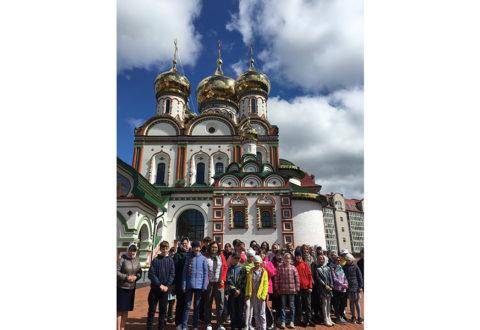 Паломничество Воскресной школы в Гусев