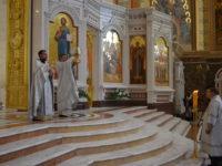 В Кафедральном соборе отметили праздник Вознесения Господне