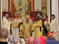 В Неделю всех святых архиепископ Серафим совершил литургию