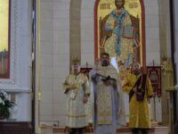 В Кафедральном соборе почтили память прп. Сергия Радонежского