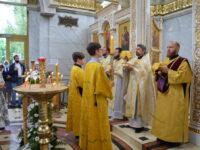Престольный праздник в храме Петра и Февронии