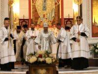 В канун праздника Преображения Господня архиепископ Серафим совершил Всенощное бдение
