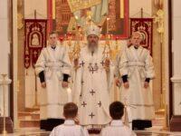 Архиепископ Серафим в Неделю 9-ю по Пятидесятнице совершил Литургию в Кафедральном соборе Христа Спасителя