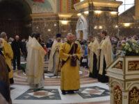 В Кафедральном соборе прошла Литургия и Молебен перед началом учебного года